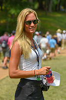 Rafael Cabrera Bello's (ESP) wife, Sofia follows Rafa down 11 during 4th round of the 100th PGA Championship at Bellerive Country Club, St. Louis, Missouri. 8/12/2018.<br /> Picture: Golffile   Ken Murray<br /> <br /> All photo usage must carry mandatory copyright credit (© Golffile   Ken Murray)