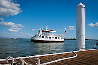 Lady Chadwick cruises for dolphins, Captiva Cruises, Captiva Island, Florida, USA. Photo by Debi Pittman Wilkey