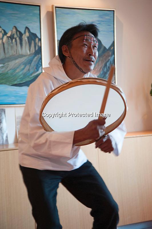 Inuit Drum Dancer Greenland