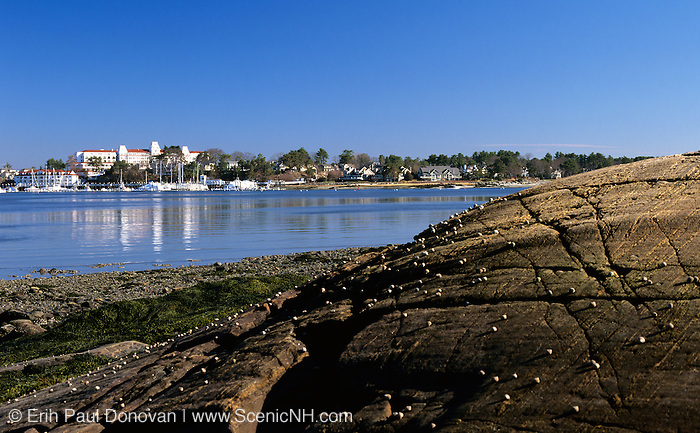 Odiorne Point State Park - Wentworth by the Sea Hotel in New Castle, New Hampshire USA