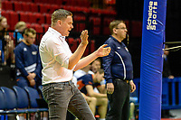 GRONINGEN - Volleybal, Lycurgus - Achterhoek Orion, final playoff 1 seizoen 2018-2019,  21-04-2019, Lycurgus coach Arjan Taaij