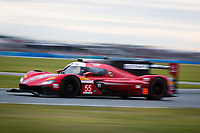 26-29 January, 2017, Daytona Beach, Florida USA<br /> 55, Mazda DPi, P, Tristan Nunez, Jonathan Bomarito, Spencer Pigot<br /> ©2017, Barry Cantrell<br /> LAT Photo USA