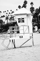 Lifeguard Tower Laguna Beach California