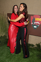 LOS ANGELES, CA - OCTOBER 10: Ione Skye and Jennifer Garner at the Los Angeles Premiere of HBO's Camping at Paramount Studios in Los Angeles,California on October 10, 2018. Credit: Faye Sadou/MediaPunch