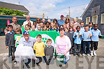Pupils at St John's national school in Ashe Street Tralee celebrated their first green flag last week. .Pupils, teachers and parents all played a part in bringing green projects to fruition. .