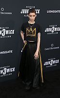 "HOLLYWOOD, CALIFORNIA - MAY 15: Asia Kate Dillon, attends the special screening of Lionsgate's ""John Wick: Chapter 3 - Parabellum"" at TCL Chinese Theatre on May 15, 2019 in Hollywood, California, USA.    <br /> CAP/MPI/FS<br /> ©FS/MPI/Capital Pictures"