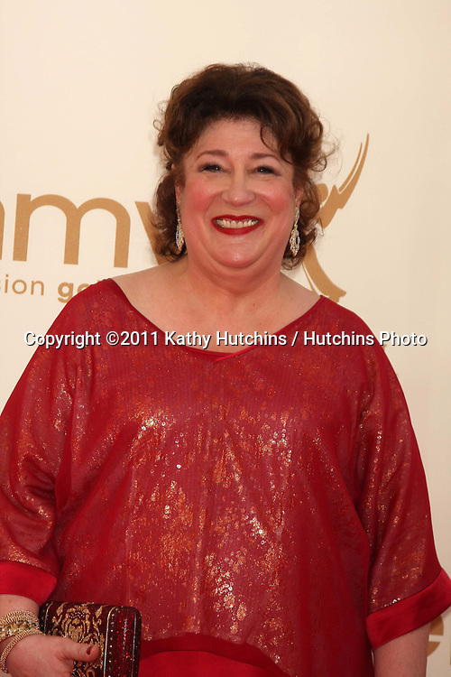 LOS ANGELES - SEP 18:  Margo Martindale arriving at the 63rd Primetime Emmy Awards at Nokia Theater on September 18, 2011 in Los Angeles, CA