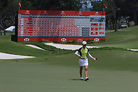 Minjee Lee (AUS) in action on the 18th during Round 3 of the HSBC Womens Champions 2018 at Sentosa Golf Club on the Saturday 3rd March 2018.<br /> Picture:  Thos Caffrey / www.golffile.ie<br /> <br /> All photo usage must carry mandatory copyright credit (&copy; Golffile | Thos Caffrey)