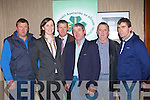Patrick Enright Castleisland, Rowena Dwyer IFA Chief Coloumist, Chris Hayes  IFA Munster President, Ken Jones IFA County Secretary, Cathal Foley Killorglin and Patrick O'Connor Ballyhar at the IFA Agriculture and the Economy meeting in Killarney Heights Hotel on Monday evening