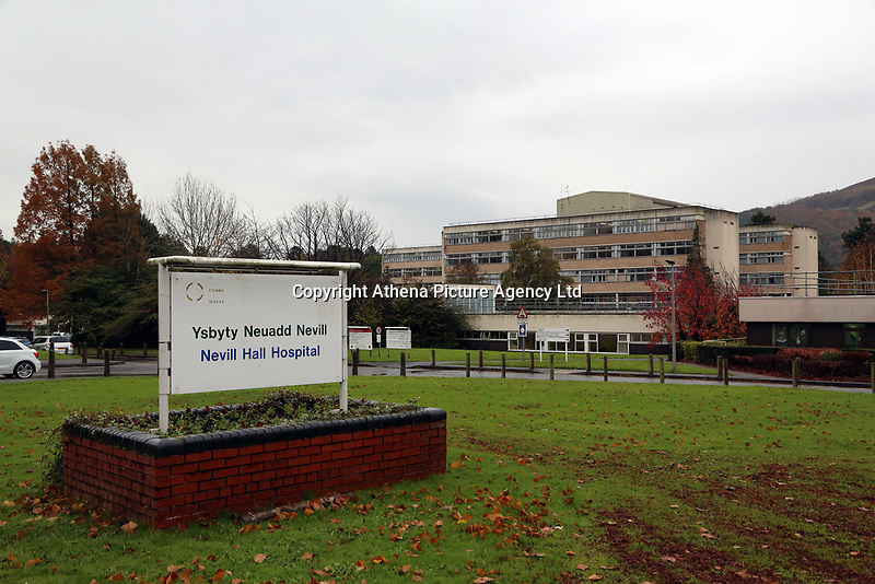 Pictured: Nevill Hall Hospital, Abergavenny, Wales, UK. Tuesday 07 November 2017
