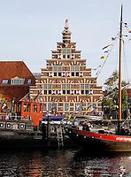 Stadstimmerwerf aan het Galgewater in Leiden