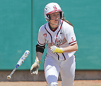 STANFORD, CA - April 30, 2011:  Sarah Hassman during Stanford's 7-1 loss to Washington at Stanford, California on April 30, 2011.