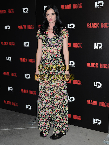 Krysten Ritter.at The Special LA screening of 'Black Rock' held at The ArcLight Theater in Hollywood, California, USA, .May 8th 2013.                                                                    .CAP/DVS.©Debbie VanStory/Capital Pictures