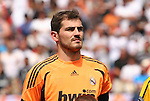09 August 2009: Madrid's Iker Casillas (ESP). Real Madrid of Spain's La Liga defeated DC United of Major League Soccer 3-0 at FedEx Field in Landover, Maryland in an international club friendly soccer match.