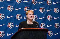 Cheryl Bailey. The NWSL draft was held at the Pennsylvania Convention Center in Philadelphia, PA, on January 17, 2014.