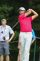 Bethesda, MD - July 2, 2017: Curtis Luck tee shot during final round of professional play at the Quicken Loans National Tournament at TPC Potomac  in Bethesda, MD, July 2, 2017.  (Photo by Elliott Brown/Media Images International)