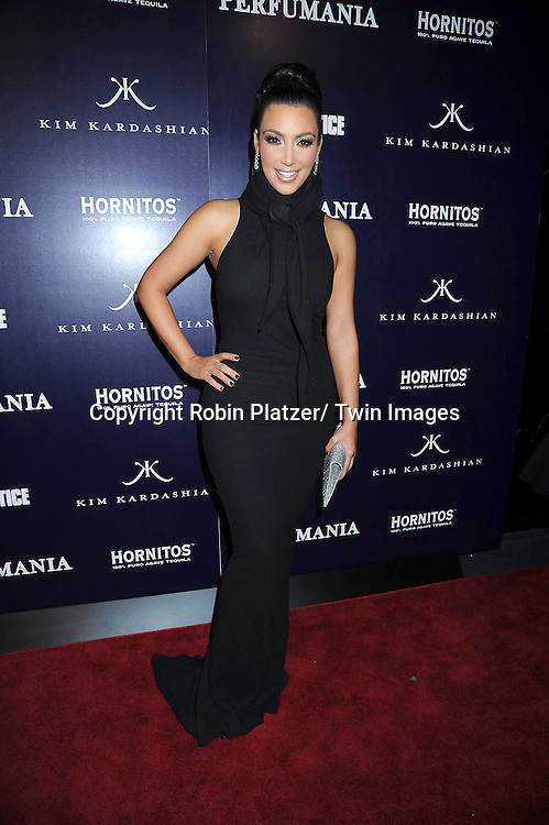 "Kim Kardashian attending The party celebrating Perfumania and Kim Kardashian's appearance on NBC's ""The Apprentice"".on November 10, 2010 in New York City."