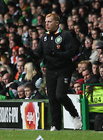 Neil Lennon in the Celtic v St Mirren Clydesdale Bank Scottish Premier League match played at Celtic Park, Glasgow on 15.12.12.