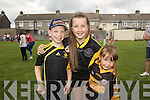 Luke Healy, Ella Smith, Tara Smith at the Connolly Park  fun day on Saturday