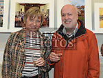 Declan and Anna Monaghan at the Mid-Louth Camera Club's 20th anniversary exhibition in St. Brigid's Hall Dunleer. Photo:Colin Bell/pressphotos.ie