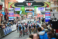 Picture by Alex Whitehead/SWpix.com - 11/05/2017 - Cycling - Tour Series Round 2  - Stoke on Trent