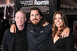 "DICKY EKLUND, CHRISTIAN BALE, SIBI BLAZIC. World Premiere of Paramount Pictures' ""The Fighter"" at Grauman's Chinese Theatre. Hollywood, CA, USA. December 6, 2010. ©CelphImage"