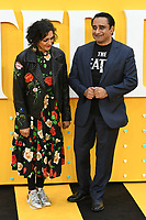 "Meera Syal and Sanjeev Baskhar<br /> arriving for the ""Yesterday"" UK premiere at the Odeon Luxe, Leicester Square, London<br /> <br /> ©Ash Knotek  D3510  18/06/2019"