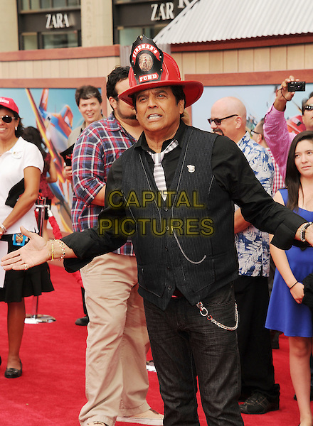 HOLLYWOOD, CA- JULY 15: Actor Eric Estrada arrives at the Los Angeles premiere of Disney's 'Planes: Fire &amp; Rescue' at the El Capitan Theatre on July 15, 2014 in Hollywood, California.<br /> CAP/ROT/TM<br /> &copy;Tony Michaels/Roth Stock/Capital Pictures