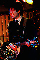 TOKYO - DEC. 9: 'John Lennon' of the Beatles Tribute band, Shirokuma Company, performing at The Cavern Club, Roppongi, Tokyo.  (Photo by Alfie Goodrich/Nippon News)