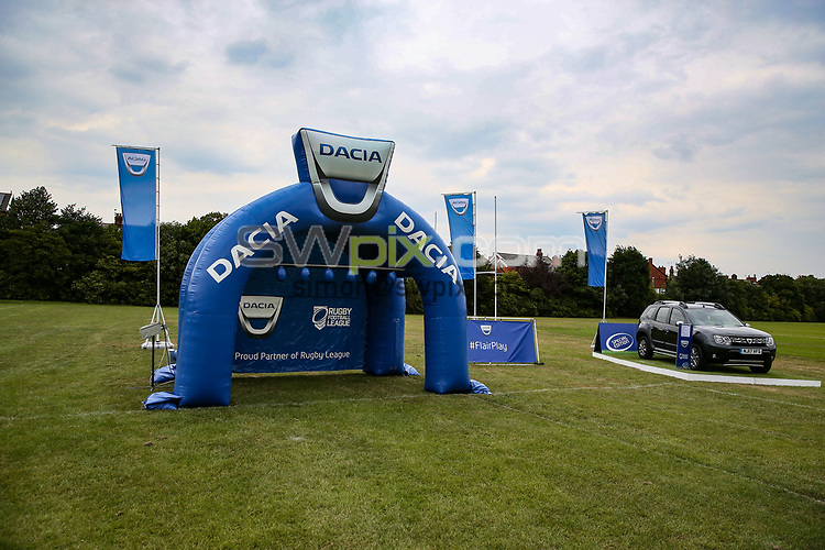 Picture by Paul Currie/SWpix.com - 26/06/2017 - Rugby League - Betfred Super League - Dacia Community Event - Pilkington Recs, St Helens, England - Dacia FairPlay Community Event