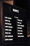 "Cast Board.pictured at the Opening Night Curtain Call for the Roundabout Theatre Company's Broadway Production of  ""Harvey"" at Studio 54 New York City June 14, 2012"