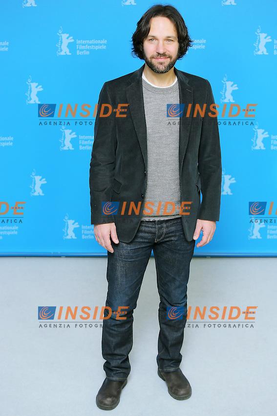 Paul Rudd. Berlin 13/02/2013. 63th Berlinale 'Prince Avalanche' photocall. foto Mark Cape/Insidefoto