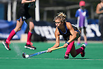 02 October 2016: Duke's Margaux Paolino. The Duke University Blue Devils hosted the Boston University Terriers at Jack Katz Stadium in Durham, North Carolina in a 2016 NCAA Division I Field Hockey match. Duke won the game 2-1.