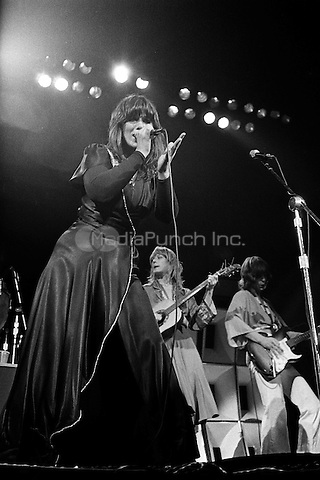 HEART performing live in Los Angeles, CA on September 27, 1977.  Photo © Kevin Estrada / Media Punch