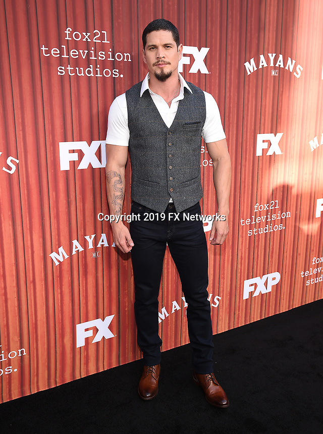 "HOLLYWOOD - MAY 29: JD Pardo attends the FYC event for FX's ""Mayans M.C."" at Neuehouse Hollywood on May 29, 2019 in Hollywood, California. (Photo by Frank Micelotta/FX/PictureGroup)"