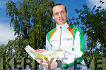 Darren Burke is on Irish Orienteering team going to the  World Championships in Belfast