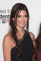 UNIVERSAL CITY, CA - JULY 22: Kendall Jenner at the 2012 Staples For Students 'Party' For A Cause hosted by Staples, DoSomething.org and Bella Thorne at the Globe Theatre at Universal Studios on July 22, 2012 in Universal City, California © mpi21/MediaPunch Inc. /NortePhoto.com*<br />