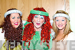 ENTERTAINMENT: Sarah Mangan, Declan Mangan and Jackie O'Mahony who entertained the crowd at the Snow White and the Seven Cromane men Pantomime.    Copyright Kerry's Eye 2008