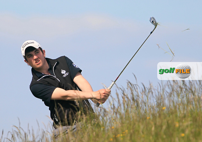 Jamie Sutherland (Galgorm)<br /> during the 4th round of the East of Ireland Amateur Open Championship 2013 Co Louth Golf club 3/6/13<br /> Picture:  Thos Caffrey / www.golffile.ie