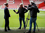 CEO Stephen Bettis interviewed by FAPL TV  during the Premier League match at Bramall Lane, Sheffield. Picture date: 7th March 2020. Picture credit should read: Simon Bellis/Sportimage