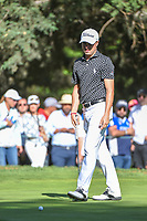 Justin Thomas (USA) barely misses his putt on 7 during round 1 of the World Golf Championships, Mexico, Club De Golf Chapultepec, Mexico City, Mexico. 2/21/2019.<br /> Picture: Golffile | Ken Murray<br /> <br /> <br /> All photo usage must carry mandatory copyright credit (© Golffile | Ken Murray)