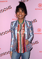 LOS ANGELES- DECEMBER 6:  Yara Shahidi at the Refinery29 29Rooms Los Angeles: Turn It Into Art Opening Night Party at ROW DTLA on December 6, 2017 in Los Angeles, California. (Photo by Scott Kirkland/PictureGroup)