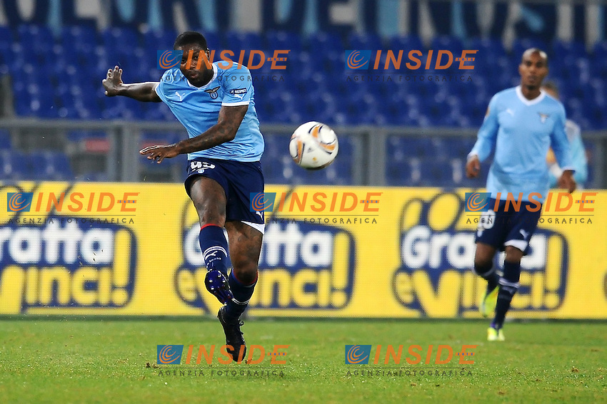 """Djibril CISSE' Lazio.Roma 3/11/2011 Stadio """"Olimpico"""".Football Calcio Europa League 2011/2012 .Lazio Vs Zurigo - Lazio Vs Zurich.Foto Insidefoto Andrea Staccioli"""