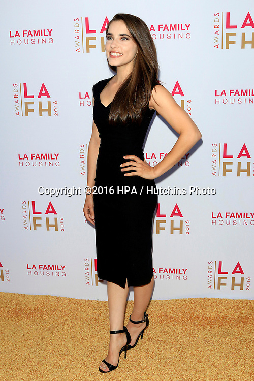 LOS ANGELES - APR 21:  Alix Angelis at the LA Family Housing Awards at the The Lot on April 21, 2016 in Los Angeles, CA
