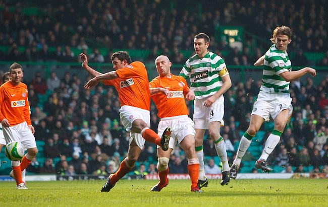 Glenn loovens scores for Celtic