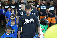 SAN JOSE, CA - JUNE 26: Chris Wondolowski #8 during a Major League Soccer (MLS) match between the San Jose Earthquakes and the Houston Dynamo on June 26, 2019 at Avaya Stadium in San Jose, California.
