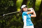 Golfer Cheuk Yee Chloe Chan of Hong Kong during the 2017 Hong Kong Ladies Open on June 10, 2017 in Hong Kong, China. Photo by Marcio Rodrigo Machado / Power Sport Images
