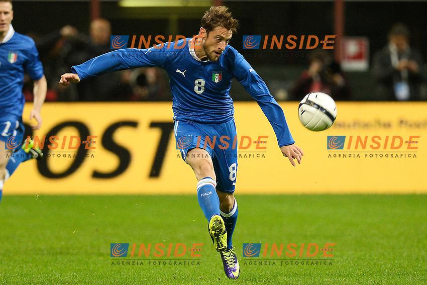 Claudio Marchisio Italia - Milano 15-11-2013 Stadio Giuseppe Meazza San Siro - Football Calcio Friendly Match  2013/2014 - Italia - Germania / Italy - Germany - Foto Andrea Staccioli / Insidefoto