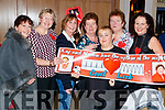 Margaret Stack, Esther O'Flaherty, Margaret Galvin, Kathleen O'Mahony, Ursula Enright, Joan Meehan and Irene Enright, attending Sickly Come Dancing, UHK, at Ballygarry House Hotel & Spa, Tralee on Friday night last.
