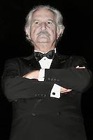 Morto il 15 Maggio 2012 all'eta' di 83 anni lo scrittore messicano Carlos Fuentes.Firenze 19/06/2005 Palazzo Pitti - Premio Galileo 2000 Edizione 2005.Lo scrittore messicano Carlos Fuentes insignito del Premio Galileo 2005 alla Cultura.Foto Serena Cremaschi Insidefoto
